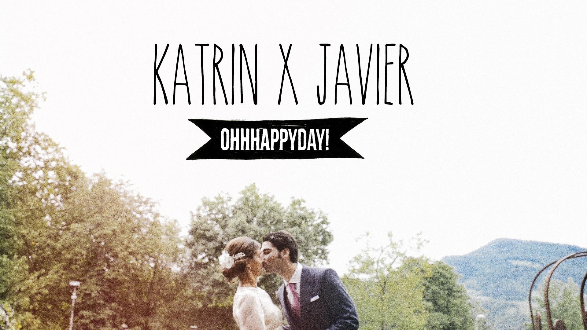 Katrin x Javier. Vídeo de boda en Artziniega. Bilbao.