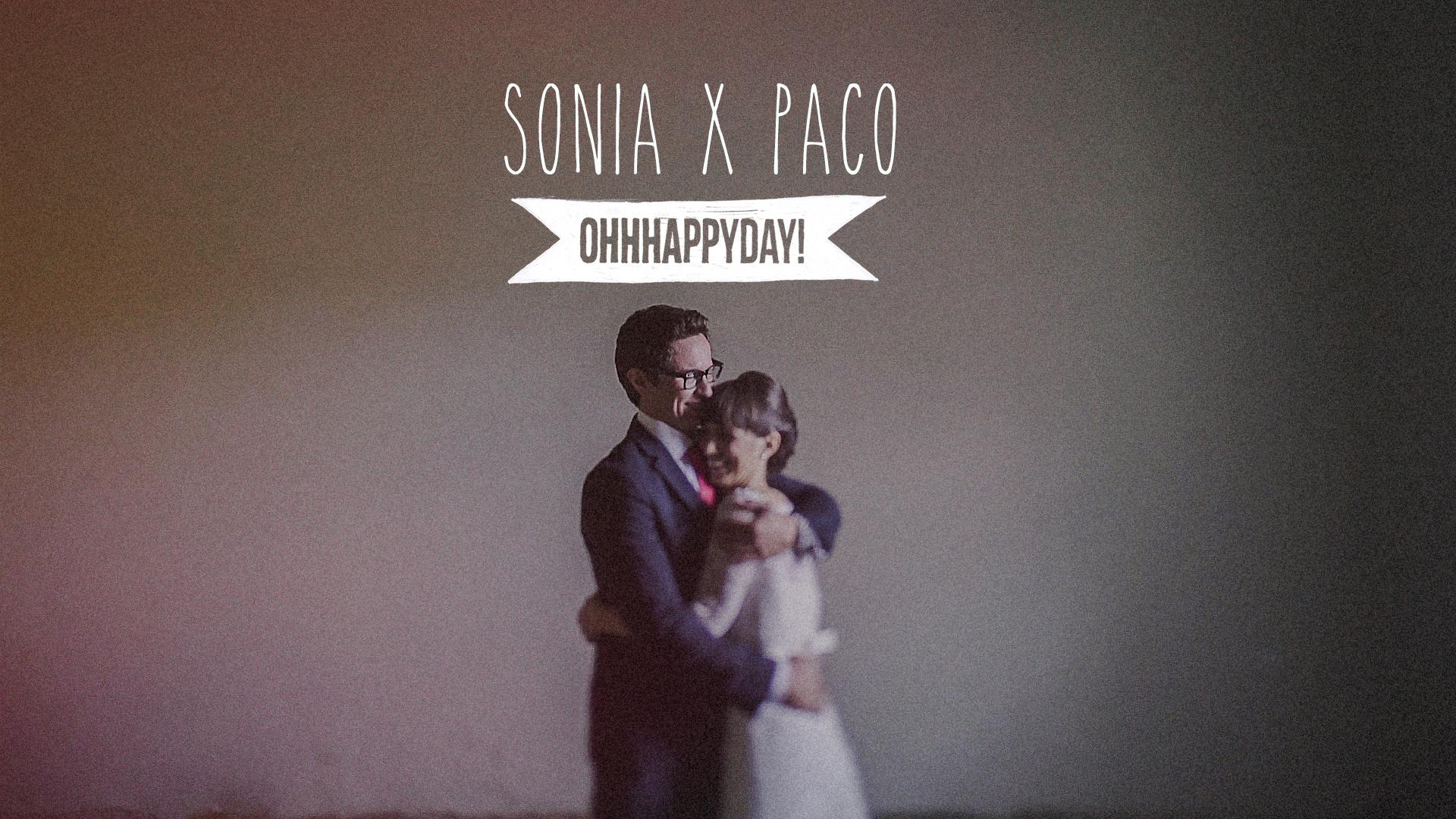 Sonia x Paco. Vídeo de boda en Caspe.