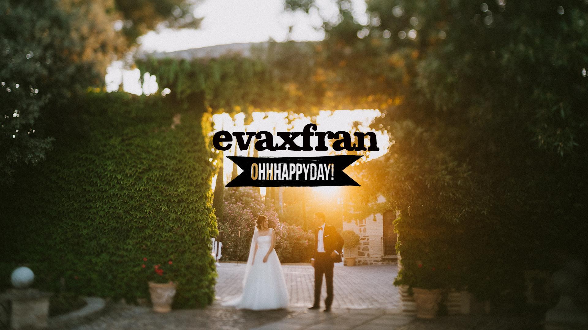 Eva x Fran. Fotografía y vídeo de boda en Toledo.