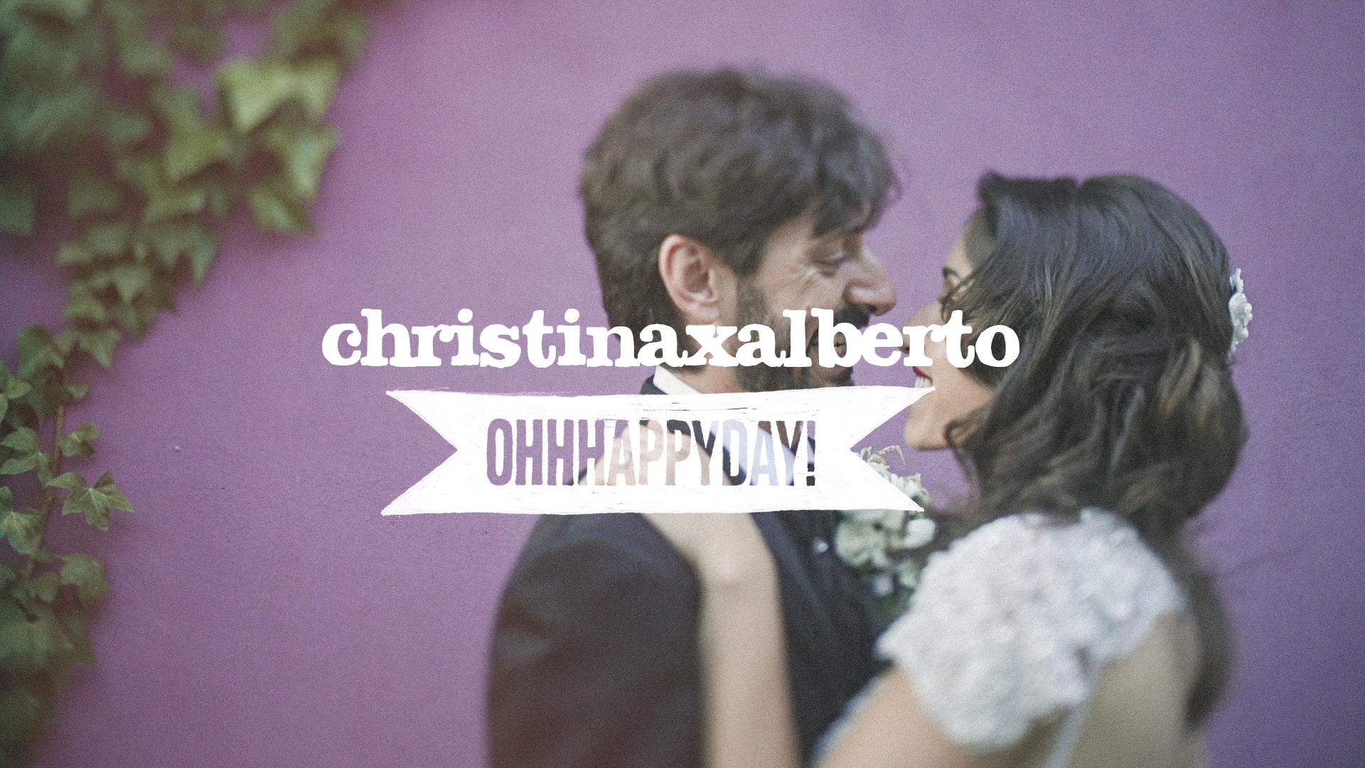 Christina x Alberto. Vídeo de boda en Zaragoza.