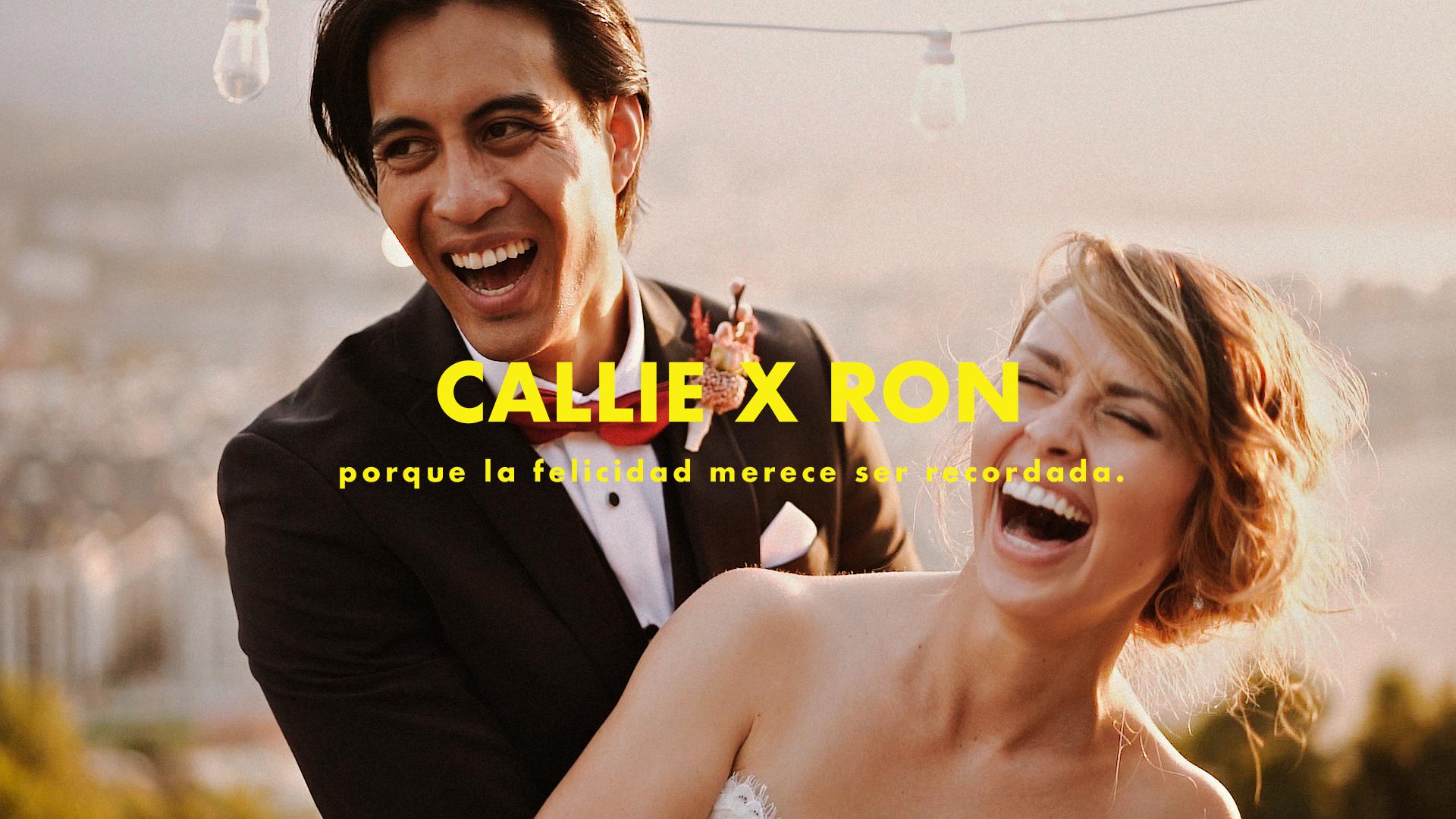 Callie x Ron. Vídeo de boda en San Sebastián.